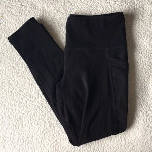 Jockey Black leggings w/ pockets!